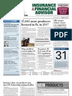 WP - Insurance & Financial Advisor News 072008