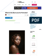 What Is the Best Lens for Portraits?