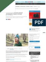 Three prime lenses every portrait photographer needs to consider