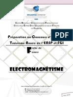 Electromagnétisme cours
