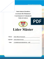 Pasta de Líder Máster - Regional