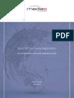 Basic SIP Username Registration