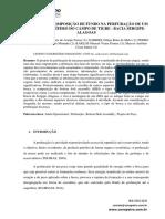 CÁLCULO DE COMPOSIÇÃO DE FUNDO NA PERFURAÇÃO DE UM POÇO