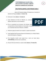 REQUISITOS PROCESO DE ADMISIÓN DE POSGRADO