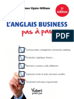 Anglais Business Pas a Pas