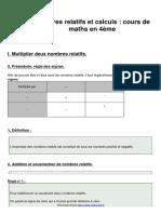 Leçon 2 nombres-relatifs-et-calculs-cours-de-maths-en-4eme