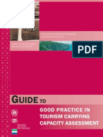 Guide to Good Practice in Tourism Carrying Capacity Assessment