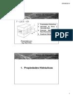 Clase 2 - Propiedades Hidráulicas