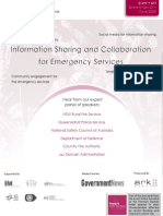 Information Sharing and Collaboration for Emergency Services