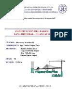 Mapeo Geológico (Barrio San cristobal)