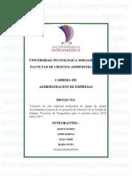 perfil de proyecto pepas de zambo