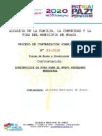 PByC FOSA RELLENO SANITARIO 2020
