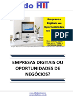 Empresas Digitais Ou Oportunidades de Negocios