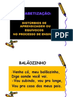 Sandra Bozza Alfabetizacao e Disturbios