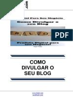 Como Divulgar o Seu Blog