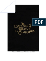 RIDEOUT, MRS. J. B. -- Camping Out in California 1889
