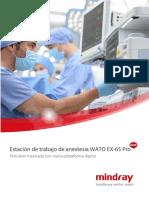 Estacion_anestesia_WATO EX-65 Pro_Mindray