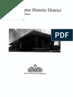 Old Decatur Design Guidelins