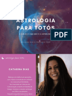 Astrologia Para Totós Catarina Ferreira e Francisca Cruz