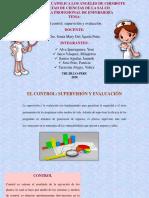 control, supervicion y evaluacion