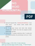 Skrining Hipotiroid dr.Dian