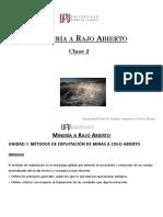 1_2_Metodos de Explotación_Ventajas y Desventajas_Open Pit_UPV 2020_Clase 2