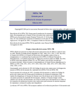 NFPA 780 ESPAÑOL