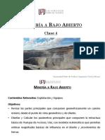 Diseño de Rampas de Acceso y Caminos_Open Pit_UPV