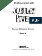 Vocab Powers