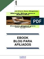 eBook Blog Para Afiliados
