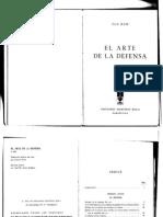 Ajedrez - El Arte de la Defensa.Ilia Kan