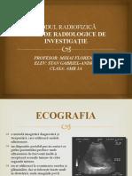 Metode radiologice de investigatie - prezentare ppt