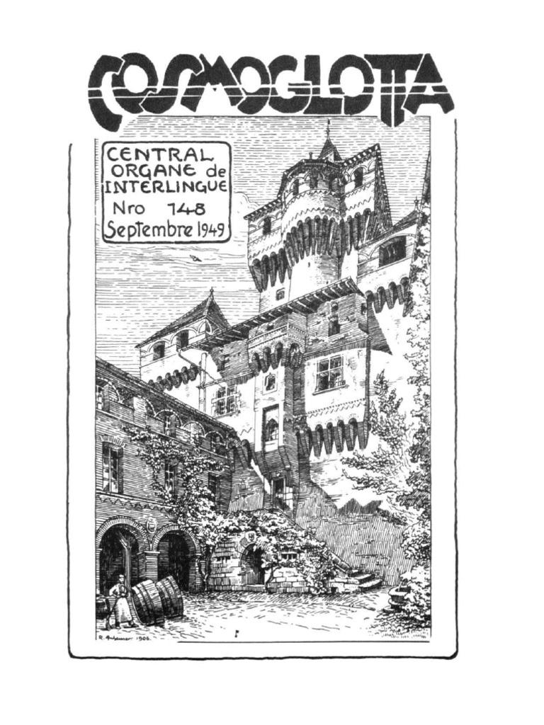 Cosmoglotta September 1949