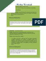 Ficha Textual y paráfrasis