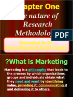 chapter One, Two and Three Research Methodology