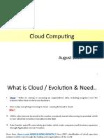 13. Cloud Computing