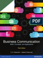 P. D. Chaturvedi, Mukesh Chaturvedi - Business Communication Skills Concepts Cases & Applications (2018, Pearson Education) - libgen.lc.pdf