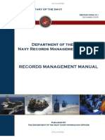 SECNAV M-5210_1 | Records Management | United States