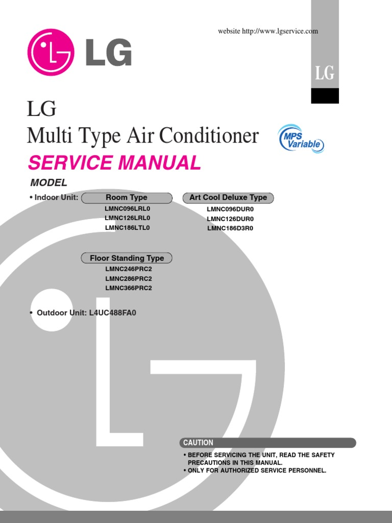 Lg Aircon Service Manual Air Conditioning Mechanical Fan