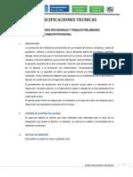 07. Especificaciones Tecnicas