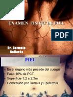 EXAMEN FISICO DE LA PIEL