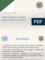 Politica Publicas Em Direitos Humanos