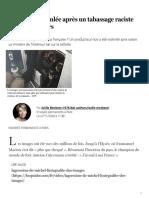 La France ébranlée après un tabassage raciste par des policiers - Le Soir Plus