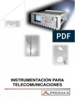 Instrumentación para Telecomunicaciones 2000 - Promax