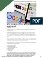 Chrome _ les utilisateurs pourront effectuer des tâches depuis la barre URL - Geeko
