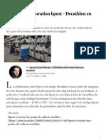 Fin de la collaboration bpost – Decathlon en Wallonie - Le Soir Plus