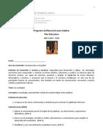 Plan #1 - ABE V  10.0-10.9 ESPA