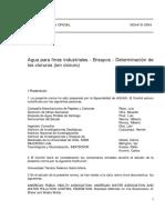 NCh0419-64 Aguas ind. det cloruros.pdf