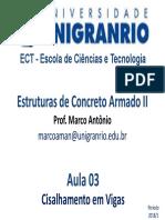 Aula 03 - Cisalhamento em Vigas.pdf