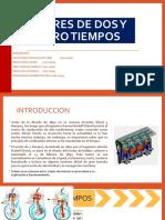MOTORES DE DOS Y CUATRO TIEMPOS